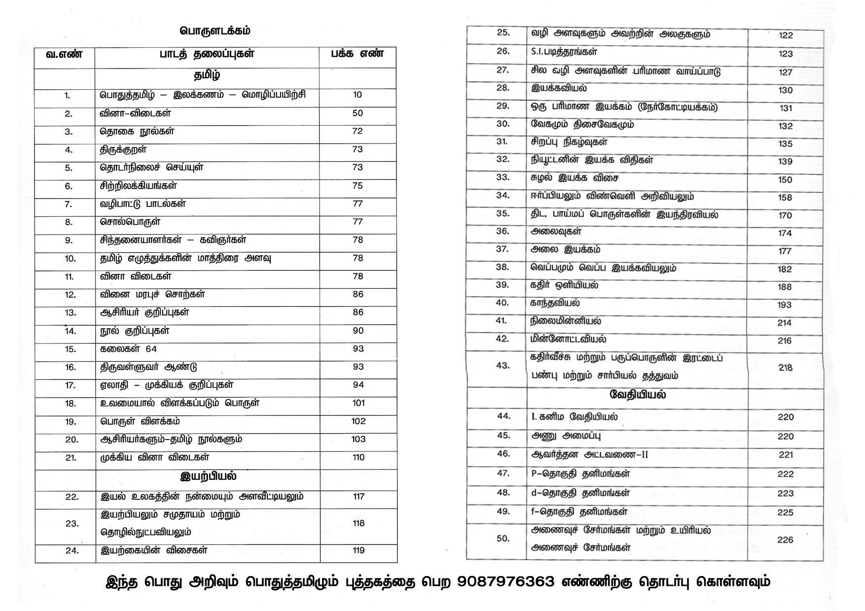 Tamil Ilakkanam Pdf Books